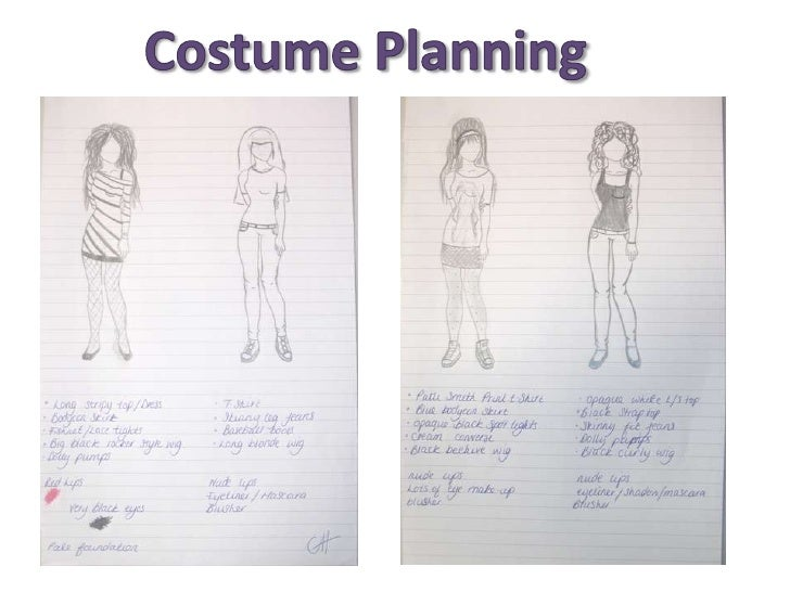 Costume Planning<br />