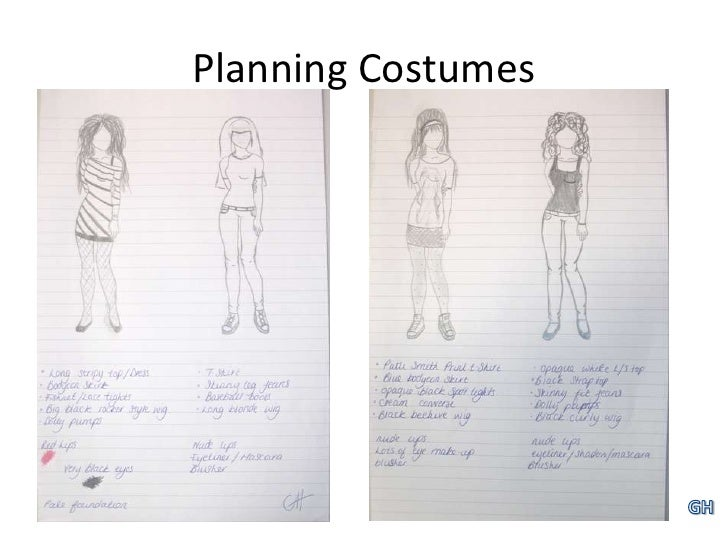 Planning Costumes<br />GH<br />