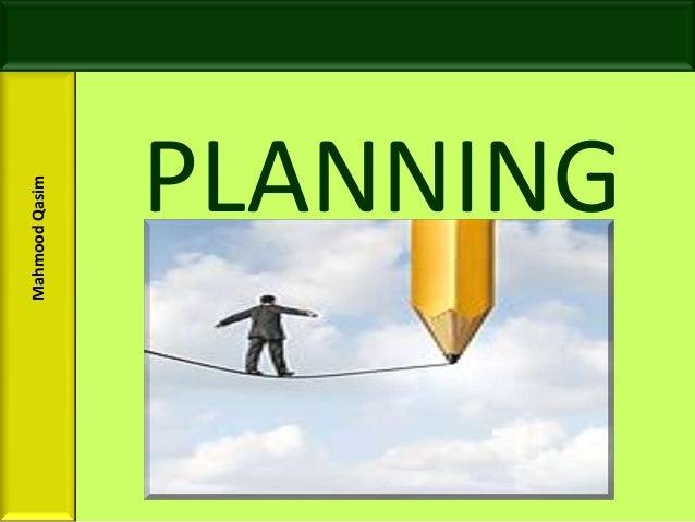 Mahmood Qasim Slides Planning for BBA and MBA Students