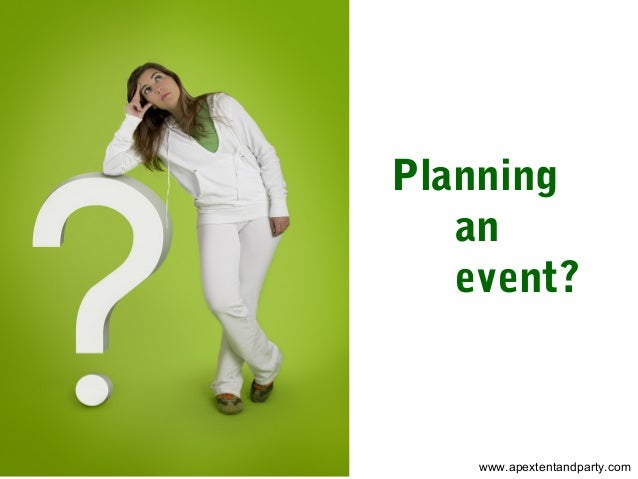 Planning an event? www.apextentandparty.com