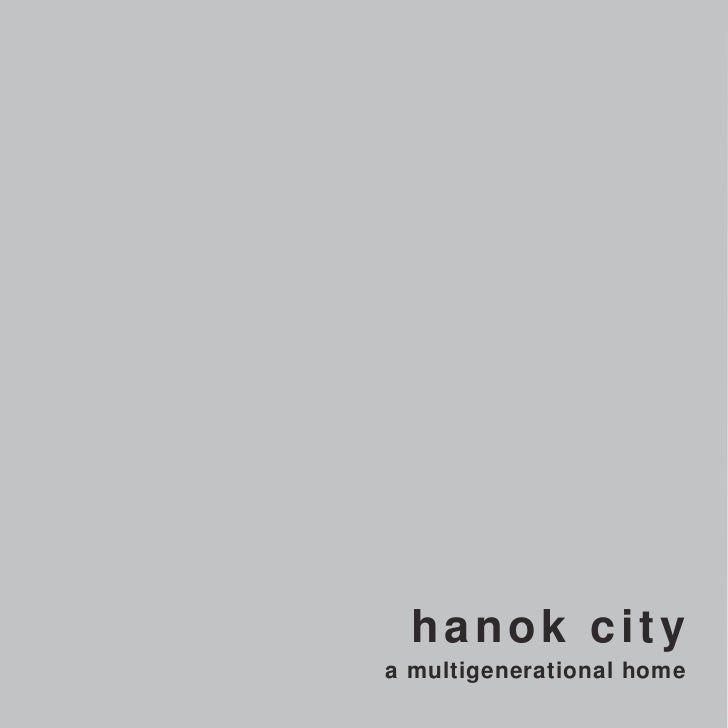 Hanok City Masterplan