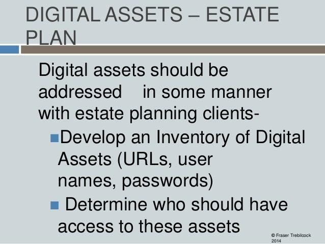 Artwork Estate Planning Digital Assets – Estate Plan