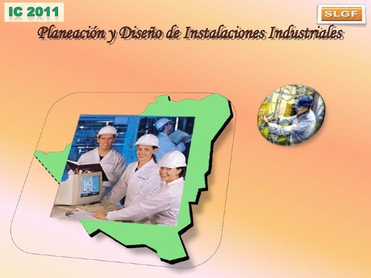 Planeación y Diseño de Instalaciones Industriales<br />