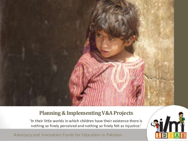 Planning & implementing v&a projects