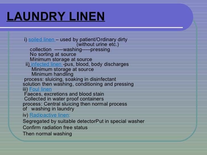 dirty linen