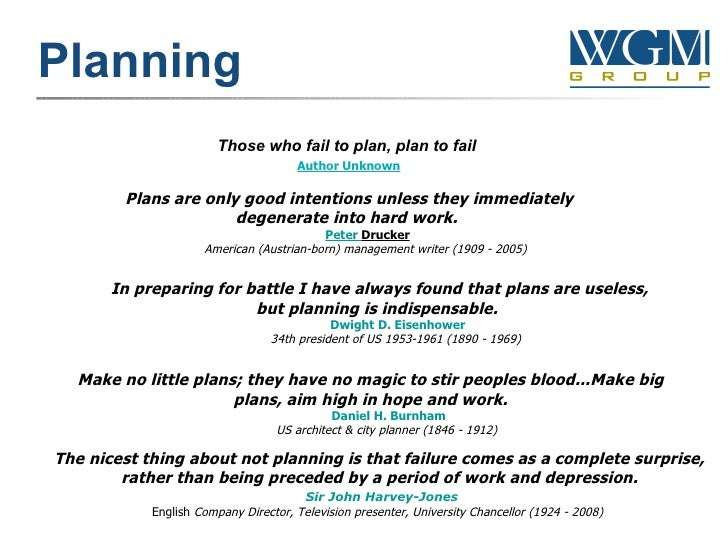 Strategic Planning Quotes