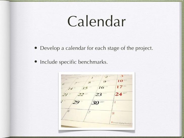 Dissertation planning calendar