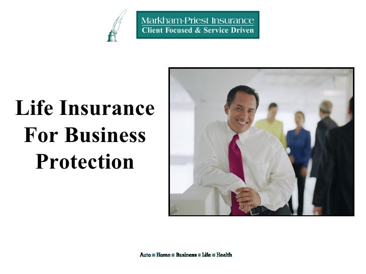 Plan the future of your business, Life insurance for business protection