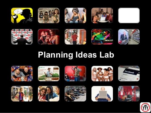 Planning Ideas Lab