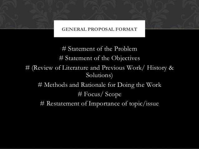 essay proposals