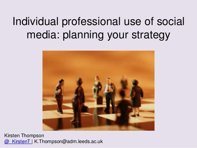 Planning your social media strategy