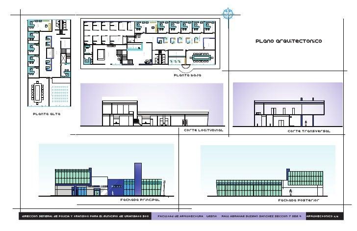 Plano arquitectonico for Planos arquitectonicos de un oxxo