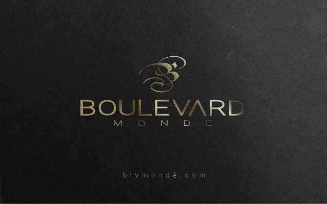 A Boulevard Monde chega no mercado através do empresário Ronaldo Garcia, com dupla nacionalidade, brasileira e suíça, loca...