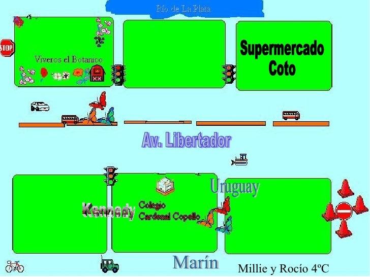 Supermercado Coto Marín Kennedy Av. Libertador Uruguay Millie y Rocío 4ºC