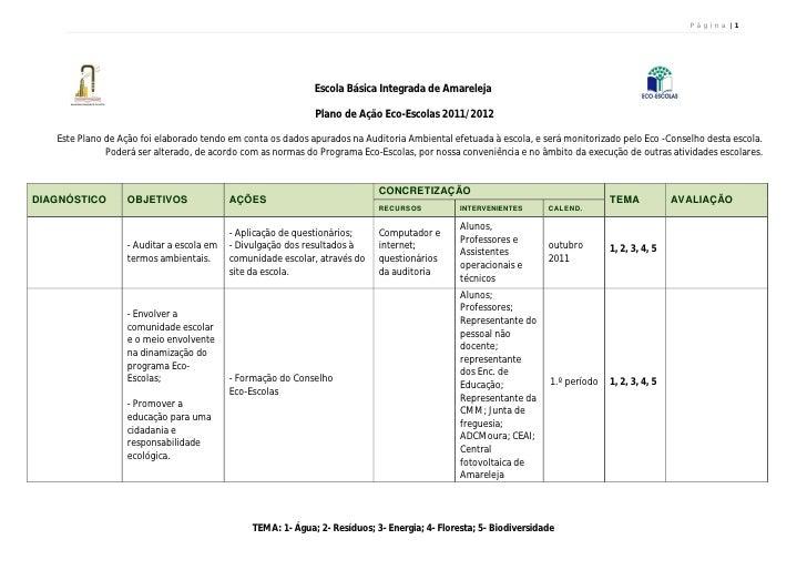 P á g i n a  1                                                             Escola Básica Integrada de Amareleja           ...