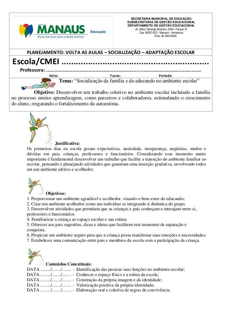 SECRETARIA MUNICIPAL DE EDUCAÇÃO                                                                            SUBSECRETARIA ...