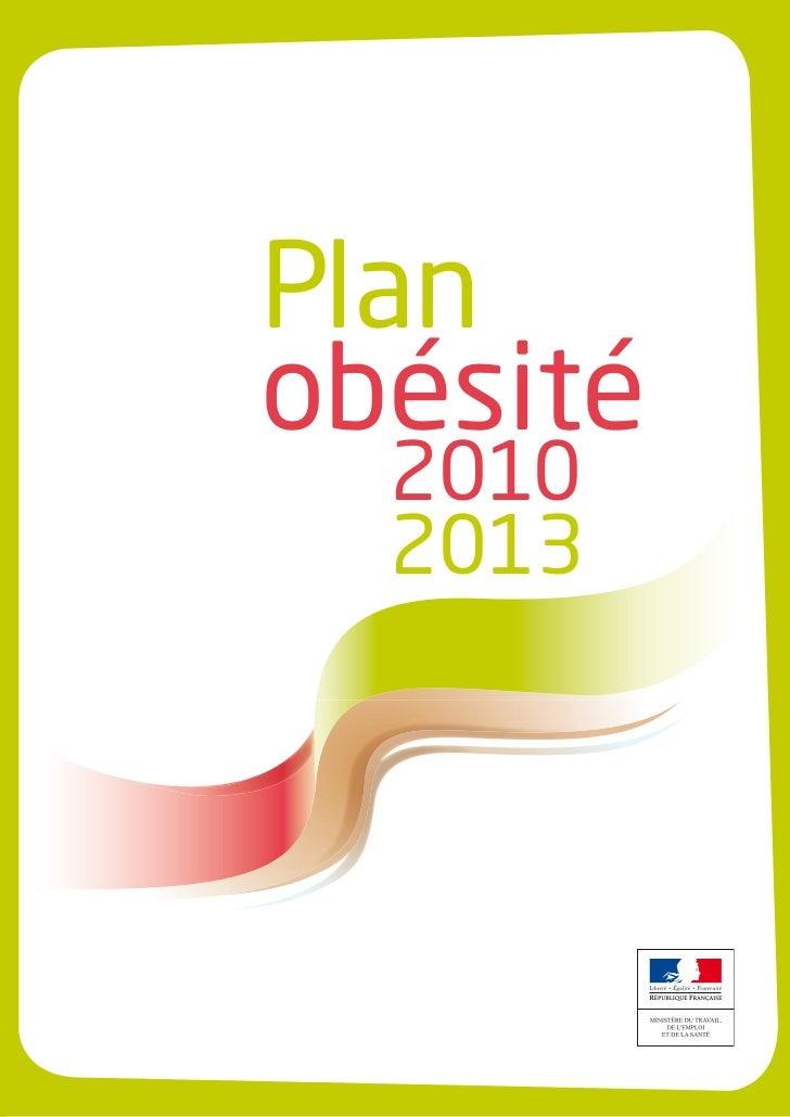 Plan obesite 2010_2013