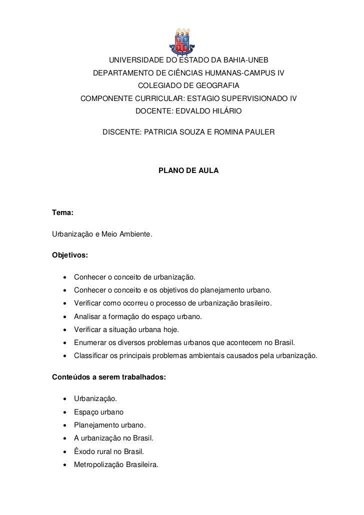 UNIVERSIDADE DO ESTADO DA BAHIA-UNEB             DEPARTAMENTO DE CIÊNCIAS HUMANAS-CAMPUS IV                           COLE...