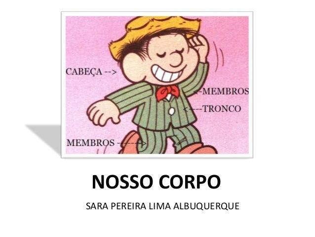 NOSSO CORPO  SARA PEREIRA LIMA ALBUQUERQUE