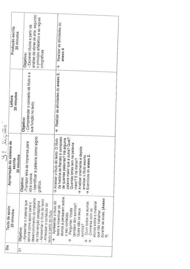 Plano de aula 31 liçoes