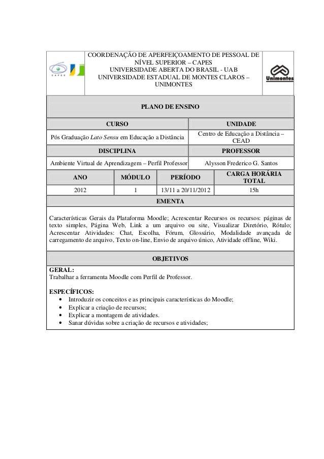 COORDENAÇÃO DE APERFEIÇOAMENTO DE PESSOAL DE                            NÍVEL SUPERIOR – CAPES                     UNIVERS...