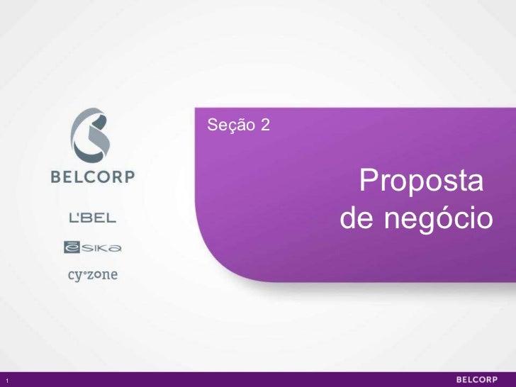 Proposta  de negócio Seção 2