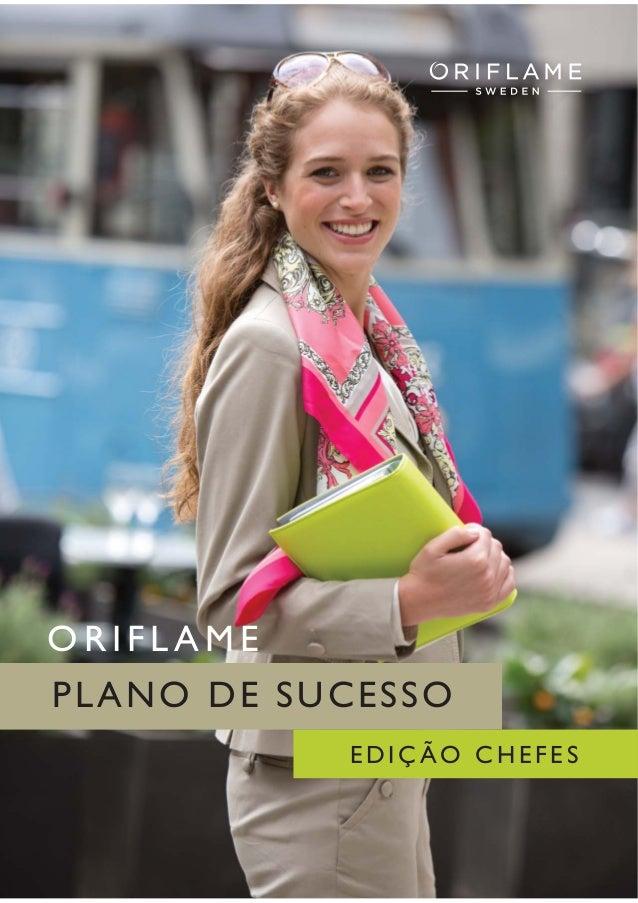 Plano de sucesso Chefes - Oriflame