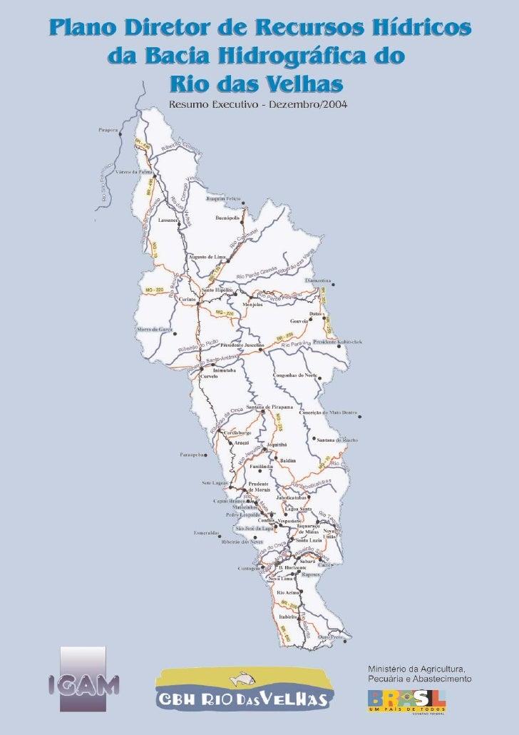 Plano diretor do comitê de Bacia Hidrográfica do Rio das Velhas