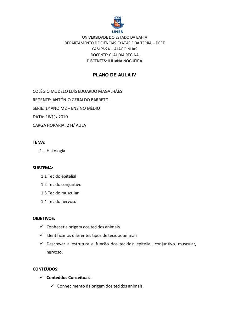 UNIVERSIDADE DO ESTADO DA BAHIA                   DEPARTAMENTO DE CIÊNCIAS EXATAS E DA TERRA – DCET                       ...