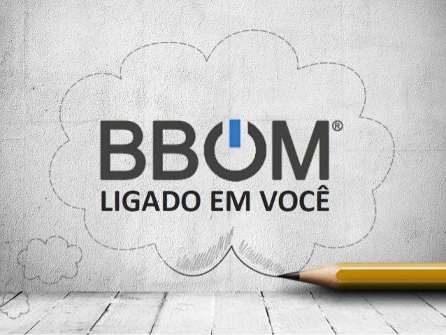 BBOM Apresentação e Plano Marketing Oficial