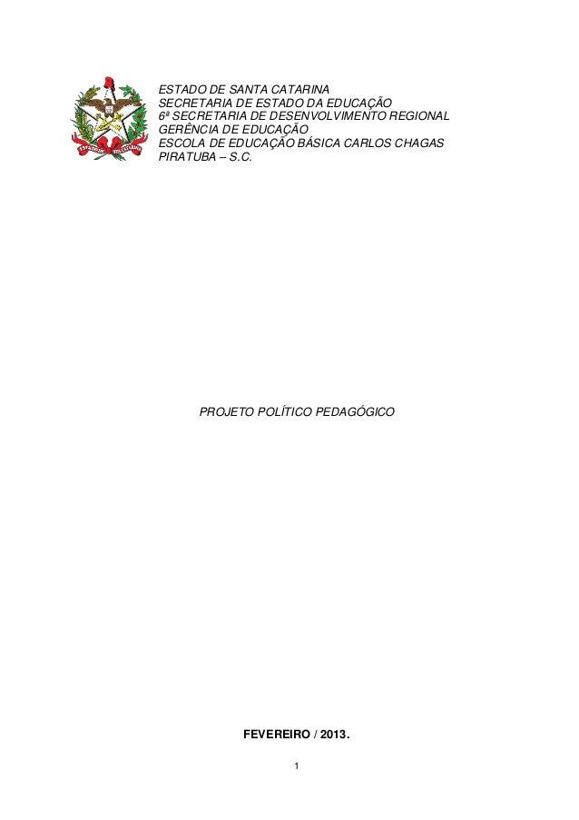 Plano político pedagógico 21.03.13