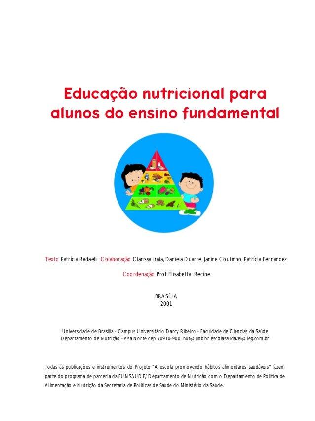 Planos aula   alimentos e nuttrientes