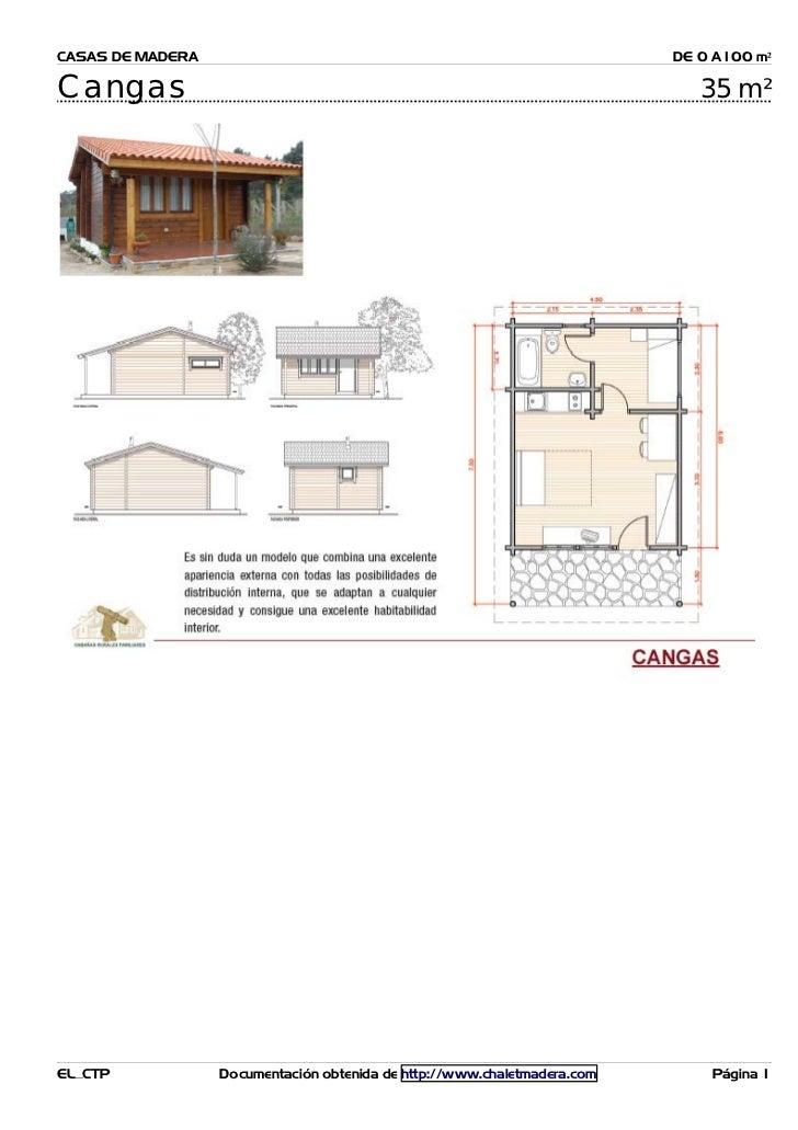 CASAS DE MADERA                                                           DE 0 A100 m²Cangas                              ...