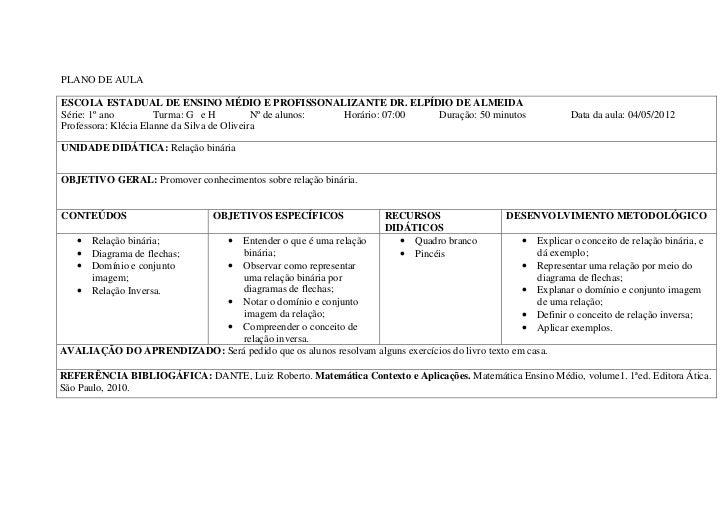 Planos de aula   2012 - pdf