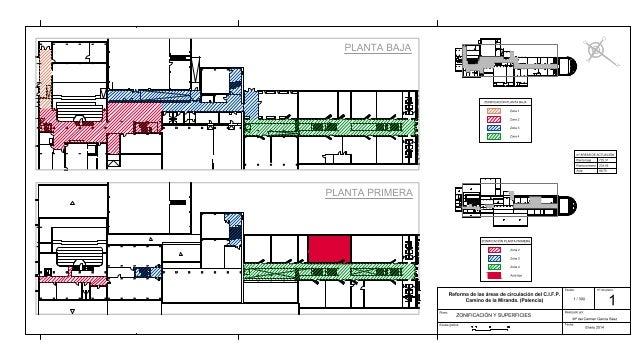 Proyecto Final 2014. Planos CAD High- Carmen Garcia
