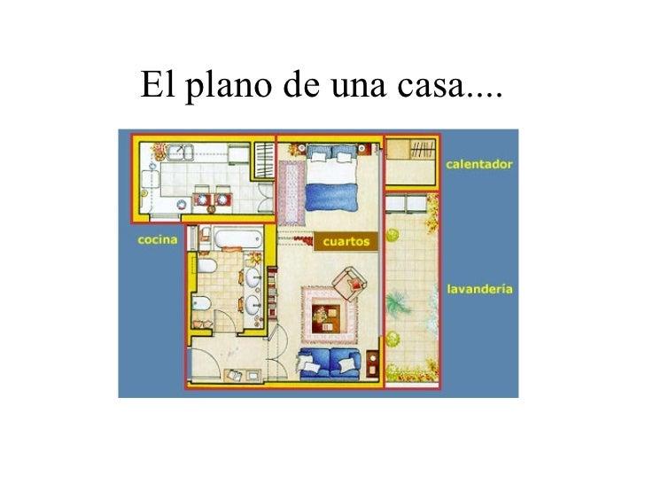 Planos y mapas for Un plano de una casa