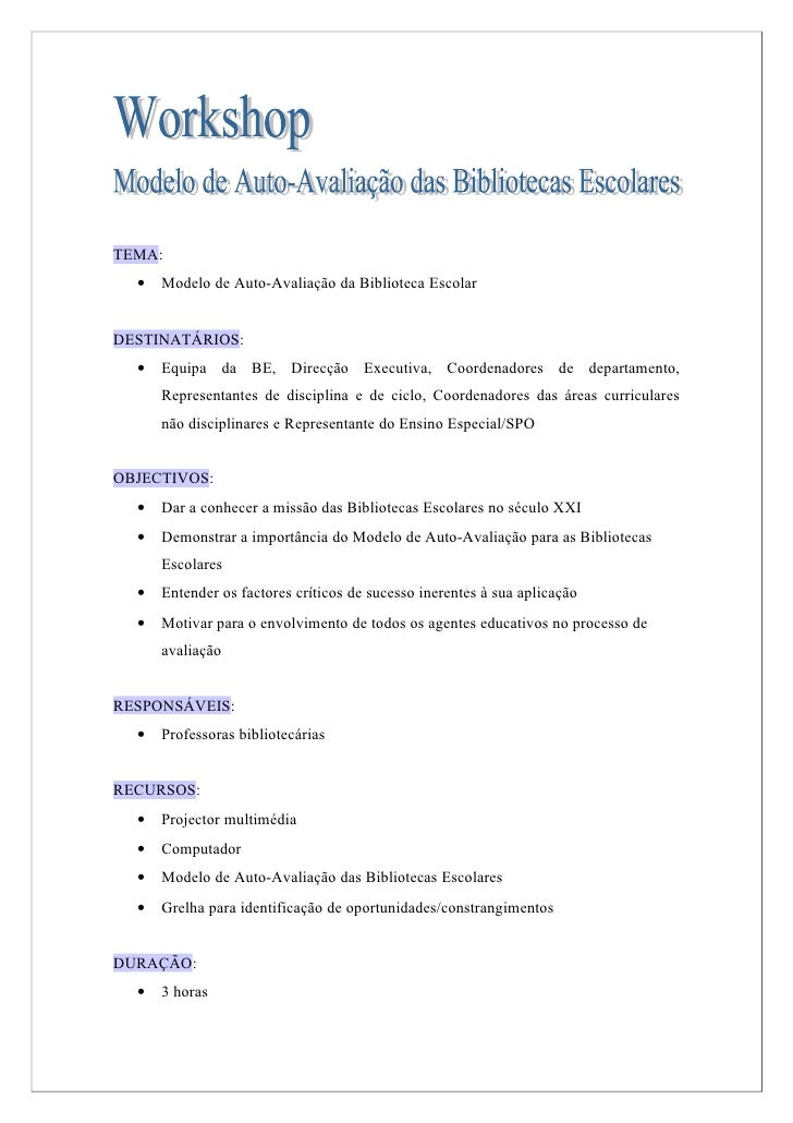 Plano - Workshop