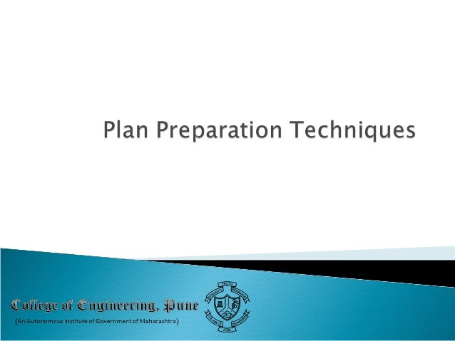   Setting of Goals and Objectives    Methodology of Urban, Regional Development Plans Plan Implementation Techniques,  ...