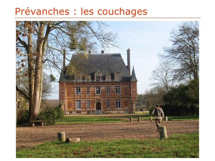 Plans Couchages - Prévanches