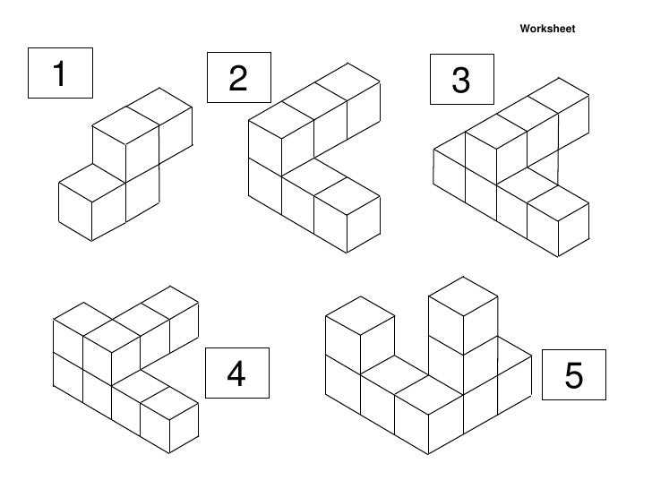 Math area worksheets