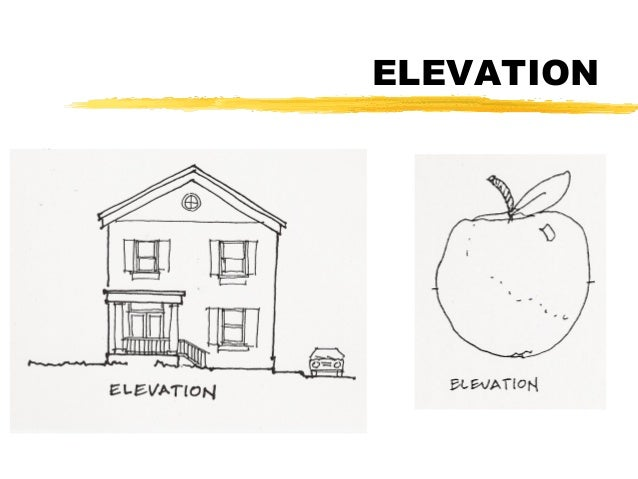 Plan Vs Elevation And Section : Plan section elevation revised