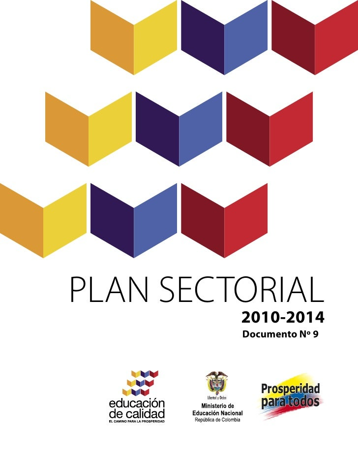 PLAN SECTORIAL         2010-2014         Documento Nº 9