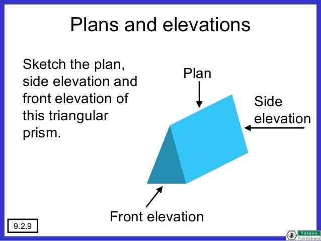Front Elevation Of A Prism : Plans elevations