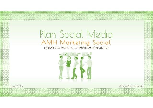 Plan social media amh