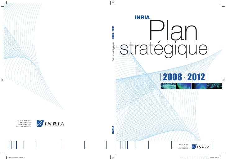 Inria - Plan stratégique 2008-2012
