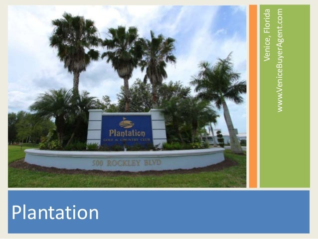 Plantation Golf and Country Club | Venice, Florida | Real Estate