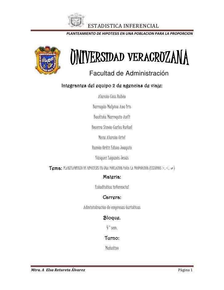 114300-28575Facultad de Administración<br />Integrantes del equipo 2 de agencias de viaje:<br />Alarcón Coss Rubén<br />Ba...