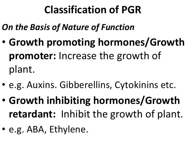plant growth substances pdf