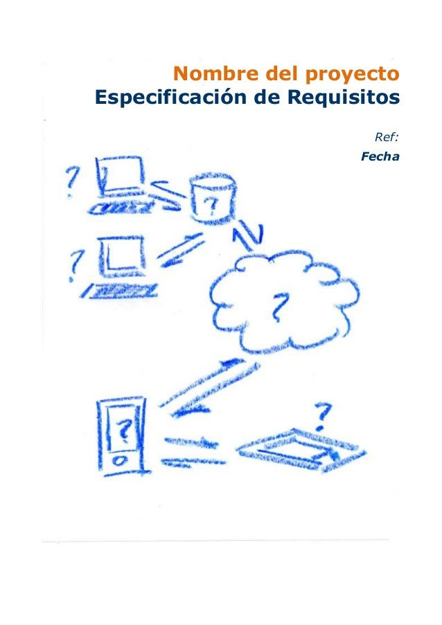 Plantilla de requisitos de software látex - de otros