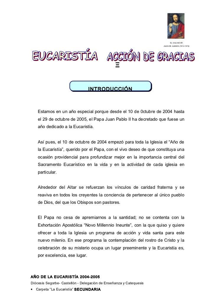 Plantilla eucaristía